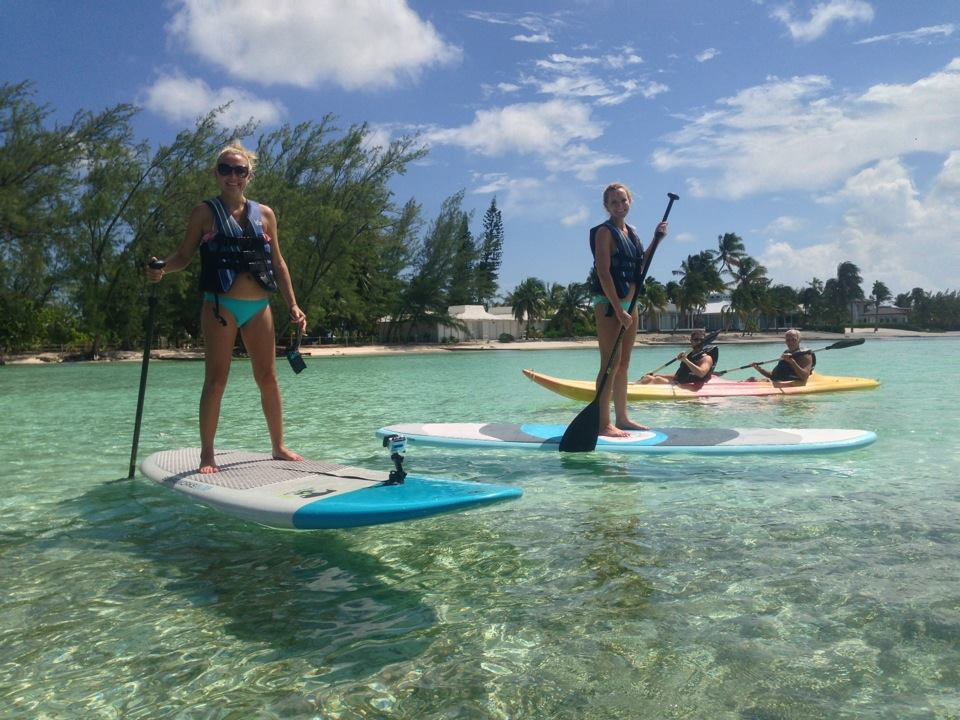 """Jody S., Weatherford, Texas: """"Paddleboarding in Grand Cayman."""""""