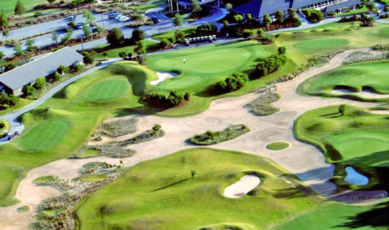 Dye Course Clubhouse At Barefoot Resort Golf
